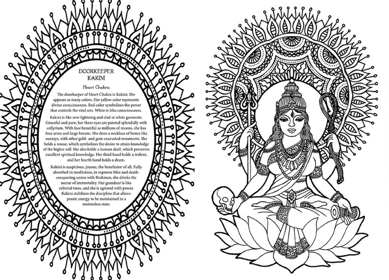free chakra coloring pages - photo#33