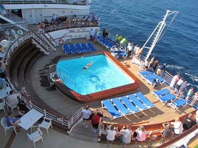 Ruby Princess Ship Information - Cruise ship pool table