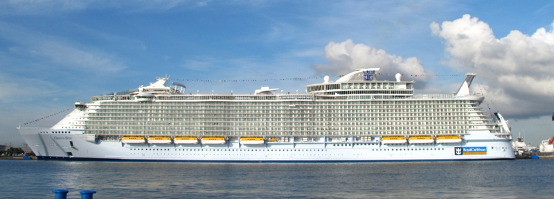 Cruise into spirit 2016 oasis of the seas transport - Allure of the seas fort lauderdale port address ...